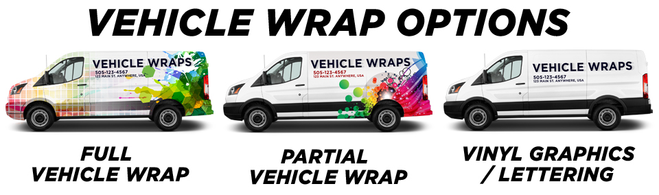 Missouri City Vehicle Wraps vehicle wrap options
